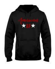American AF for independence day t shirt Hooded Sweatshirt thumbnail