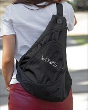 DENTIST LOVE Sling Pack garment-embroidery-slingpack-lifestyle-01