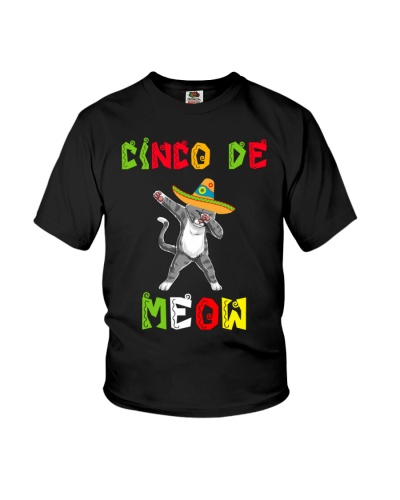 Happy Cinco De Mayo Cat dabbing cute