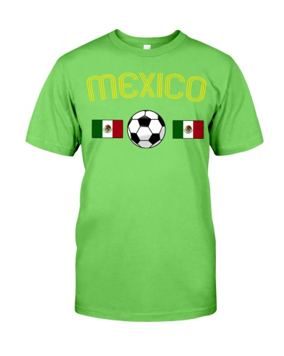 Mexico soccer flag cool t shirt