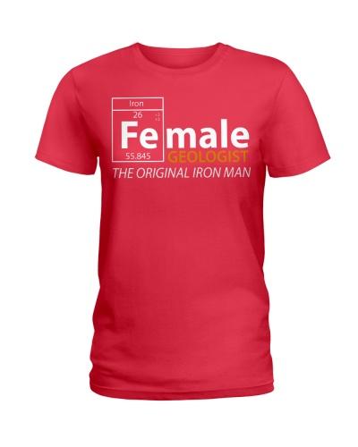 Female Geologist