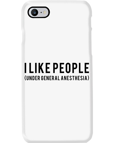 Anesthesiologist I like people funny t shirt