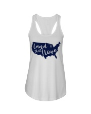 America Land that I love independence day t shirt Ladies Flowy Tank thumbnail