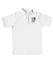 Best Paratrooper Ever Classic Polo embroidery-polo-short-sleeve-layflat-front