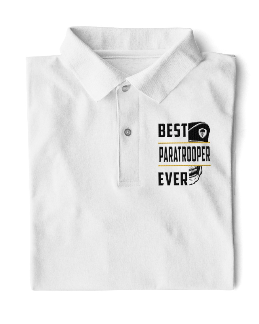 Best Paratrooper Ever Classic Polo