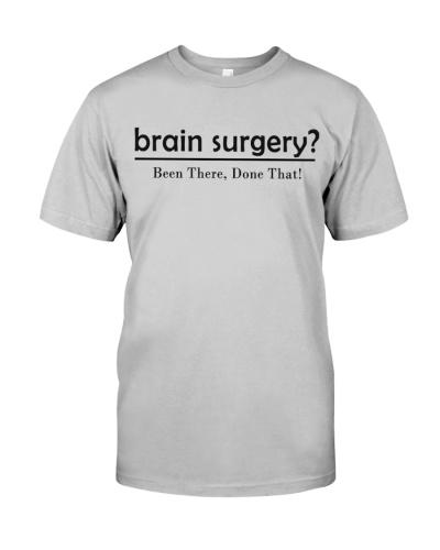 Surgeon funny brain surgery shirt