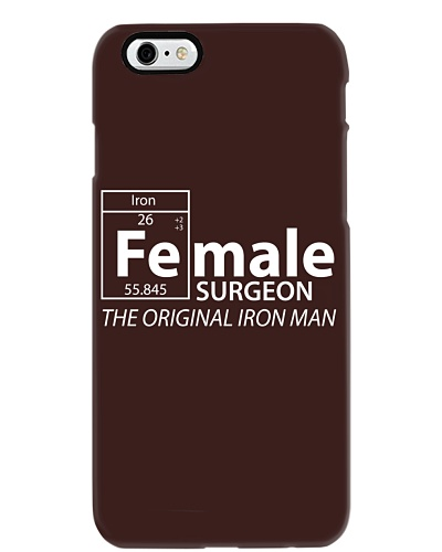Iron female Surgeon funny shirt