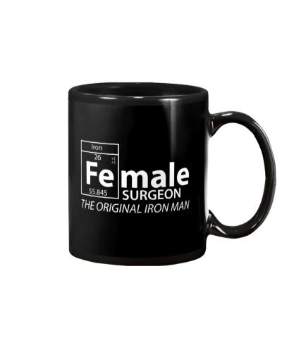 Iron female Surgeon funny shirt