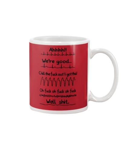 Cardiologist we are good funny mug