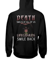 Death smiles at all of us Lifeguards smile back Hooded Sweatshirt thumbnail