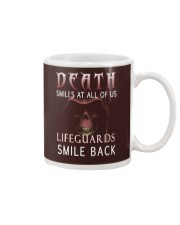 Death smiles at all of us Lifeguards smile back Mug thumbnail