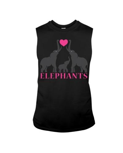 Elephant family love