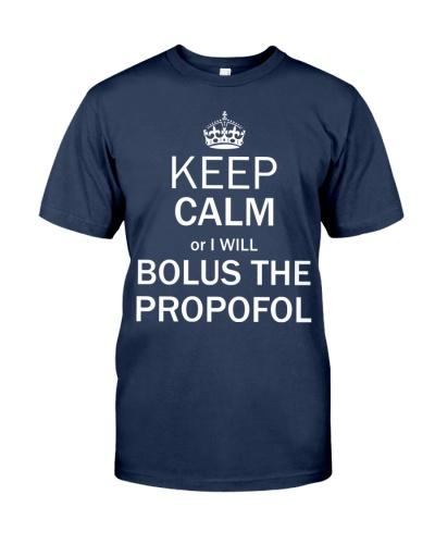Anesthesiologist keep calm