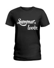 summer lovin shirt Ladies T-Shirt tile