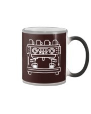 Double Espresso Machine Barista Color Changing Mug thumbnail