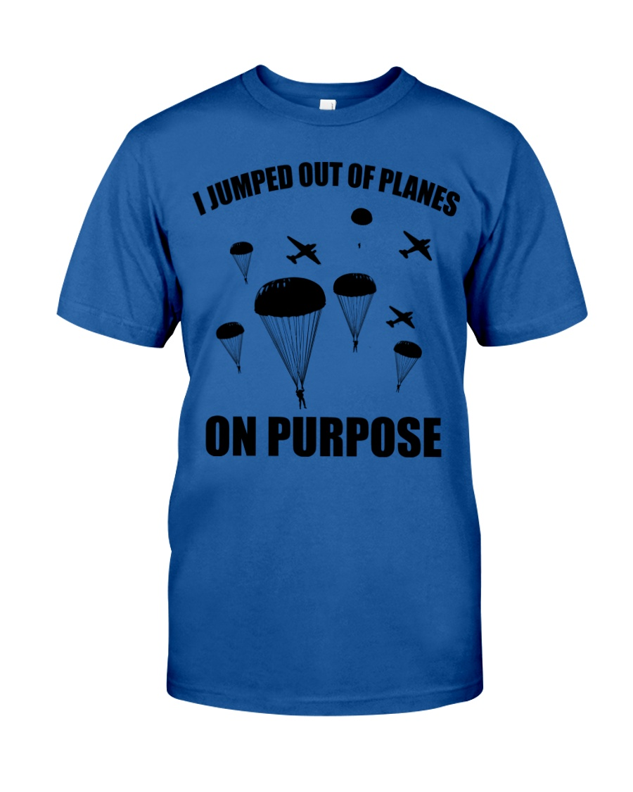Paratrooper jumped out of planes Classic T-Shirt