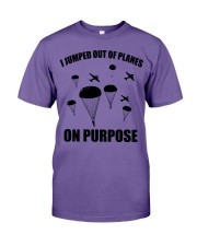 Paratrooper jumped out of planes Premium Fit Mens Tee thumbnail