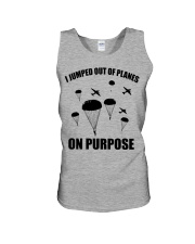 Paratrooper jumped out of planes Unisex Tank thumbnail