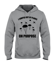 Paratrooper jumped out of planes Hooded Sweatshirt thumbnail
