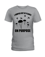 Paratrooper jumped out of planes Ladies T-Shirt thumbnail