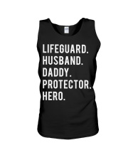 Lifeguard Husband Daddy Protector Hero Unisex Tank thumbnail