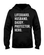 Lifeguard Husband Daddy Protector Hero Hooded Sweatshirt thumbnail