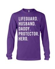 Lifeguard Husband Daddy Protector Hero Long Sleeve Tee thumbnail