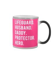 Lifeguard Husband Daddy Protector Hero Color Changing Mug thumbnail
