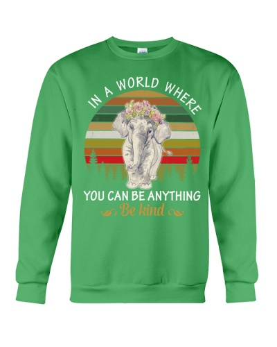 In a world where you can be anything Elephant