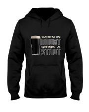Drink a stout Hooded Sweatshirt thumbnail