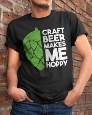 CRAFT BEER HOPPY Classic T-Shirt apparel-classic-tshirt-lifestyle-26