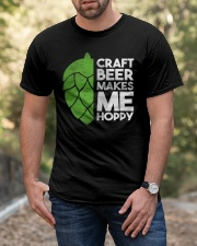 CRAFT BEER HOPPY Classic T-Shirt apparel-classic-tshirt-lifestyle-front-53