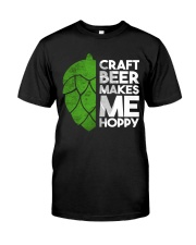 CRAFT BEER HOPPY Classic T-Shirt front