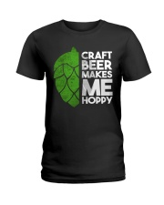CRAFT BEER HOPPY Ladies T-Shirt thumbnail