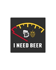 I NEED BEER Square Magnet thumbnail