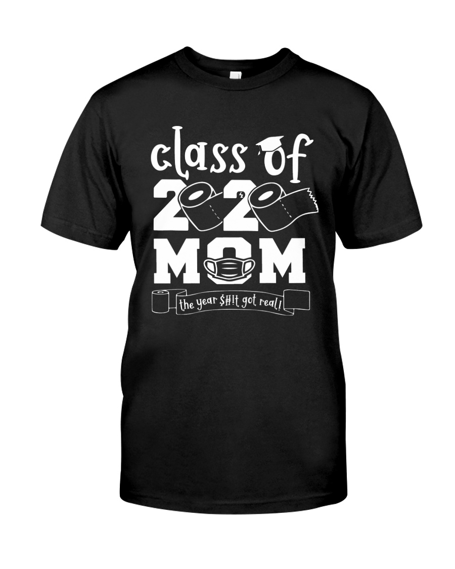 Class of 2020 Mom - Mother's Day Classic T-Shirt