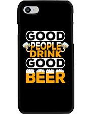 GOOD PEOPLE DRINK GOOD BEER Phone Case thumbnail