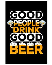 GOOD PEOPLE DRINK GOOD BEER 11x17 Poster thumbnail