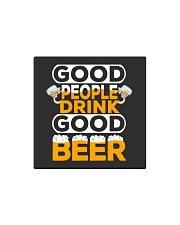 GOOD PEOPLE DRINK GOOD BEER Square Magnet thumbnail
