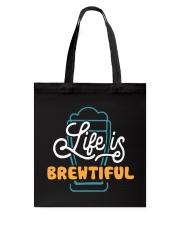 LIFE IS BREWTIFUL Tote Bag thumbnail