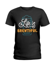 LIFE IS BREWTIFUL Ladies T-Shirt thumbnail