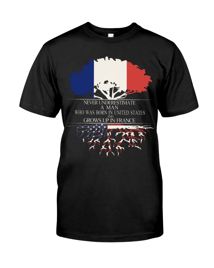 Never underestimate a man US FRA Classic T-Shirt