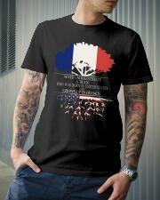 Never underestimate a man US FRA Classic T-Shirt lifestyle-mens-crewneck-front-6