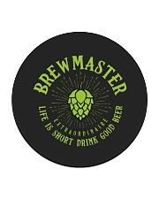 Brewmaster Circle Coaster thumbnail