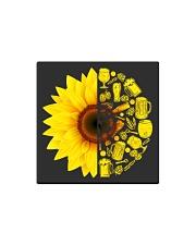 Sunflower Square Magnet thumbnail