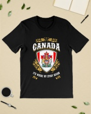 Canada it's where my story began Classic T-Shirt lifestyle-mens-crewneck-front-19