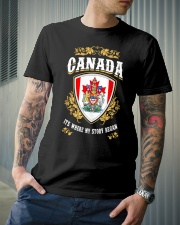 Canada it's where my story began Classic T-Shirt lifestyle-mens-crewneck-front-6