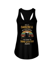 Hello Darkness - Factory Vintage Ladies Flowy Tank tile