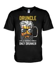 DRUNCLE V-Neck T-Shirt thumbnail