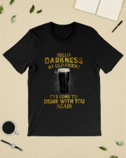 Hello darkness my old friend YL Classic T-Shirt lifestyle-mens-crewneck-front-19
